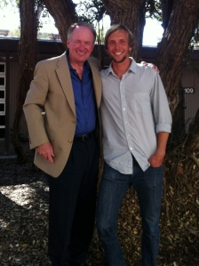 Byron and I at UCSD in 2011. He was and continues to be such an incredible mentor.